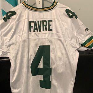 the latest 41e07 b7f12 100% Stitched never worn Brett Favre jersey W TAGS NWT